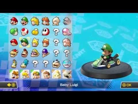 Mario Kart 8 Wii U Trucos Y Consejos 1 Mejor Personaje Y Vehículo Mario Kart Mario Kart 8 Wii