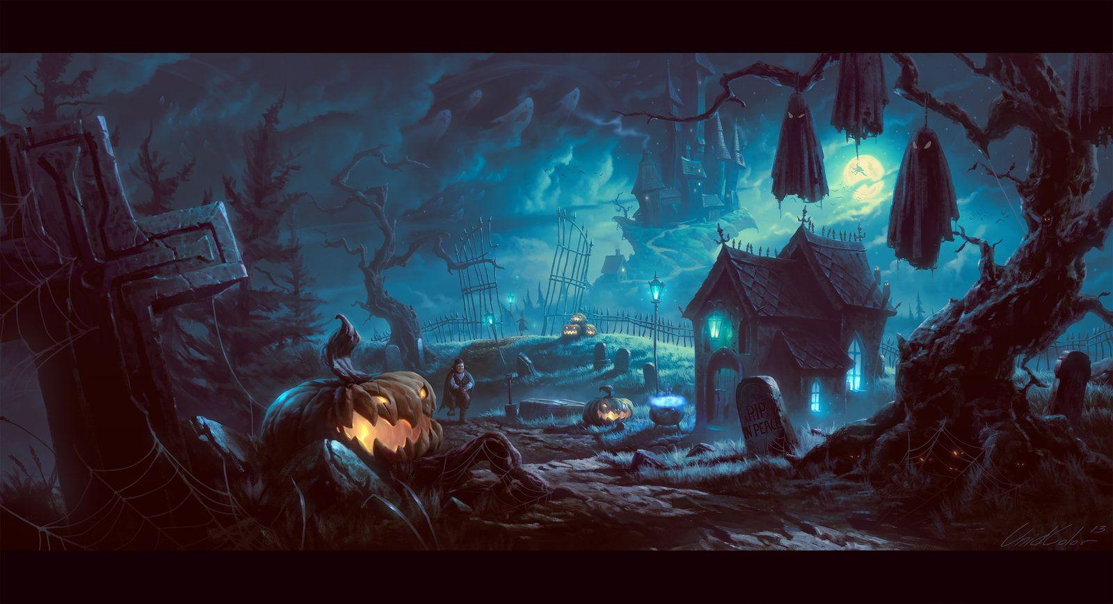 39 best halloween wallpaper backgrounds images on pinterest