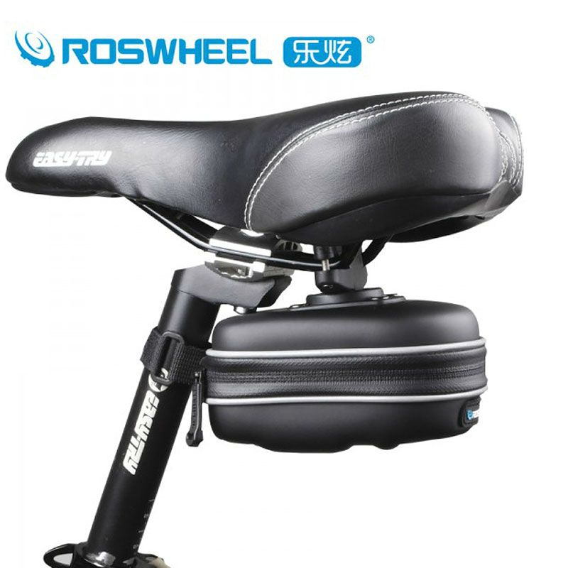 MTB Bike Bicycle Saddle Bag Seat Storage Tail Pouch Cycling Rear Pack Pannier UK