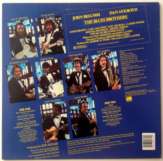 The Blues Brothers Original Soundtrack Recording By Thisvinyllife Steve Cropper Blues Brothers Band
