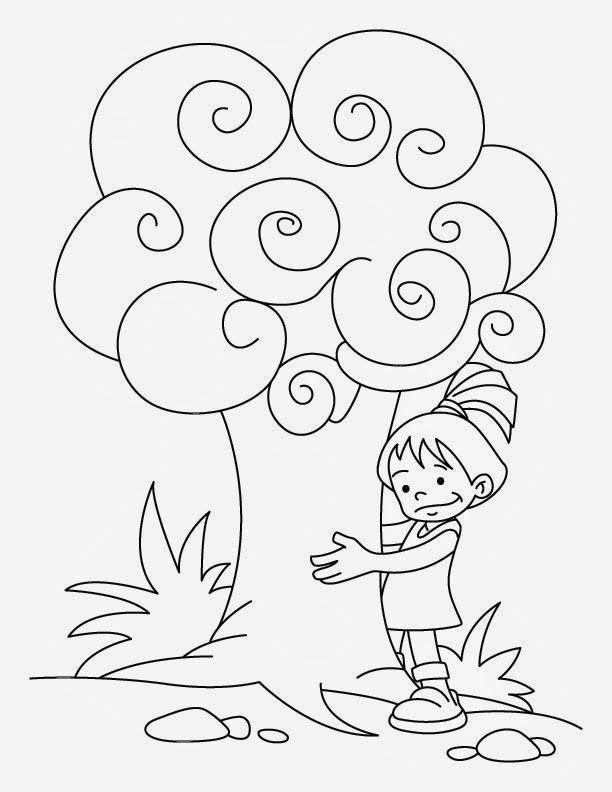 Dibujos de Arboles para Colorear, parte 1 | Arboles | Pinterest ...