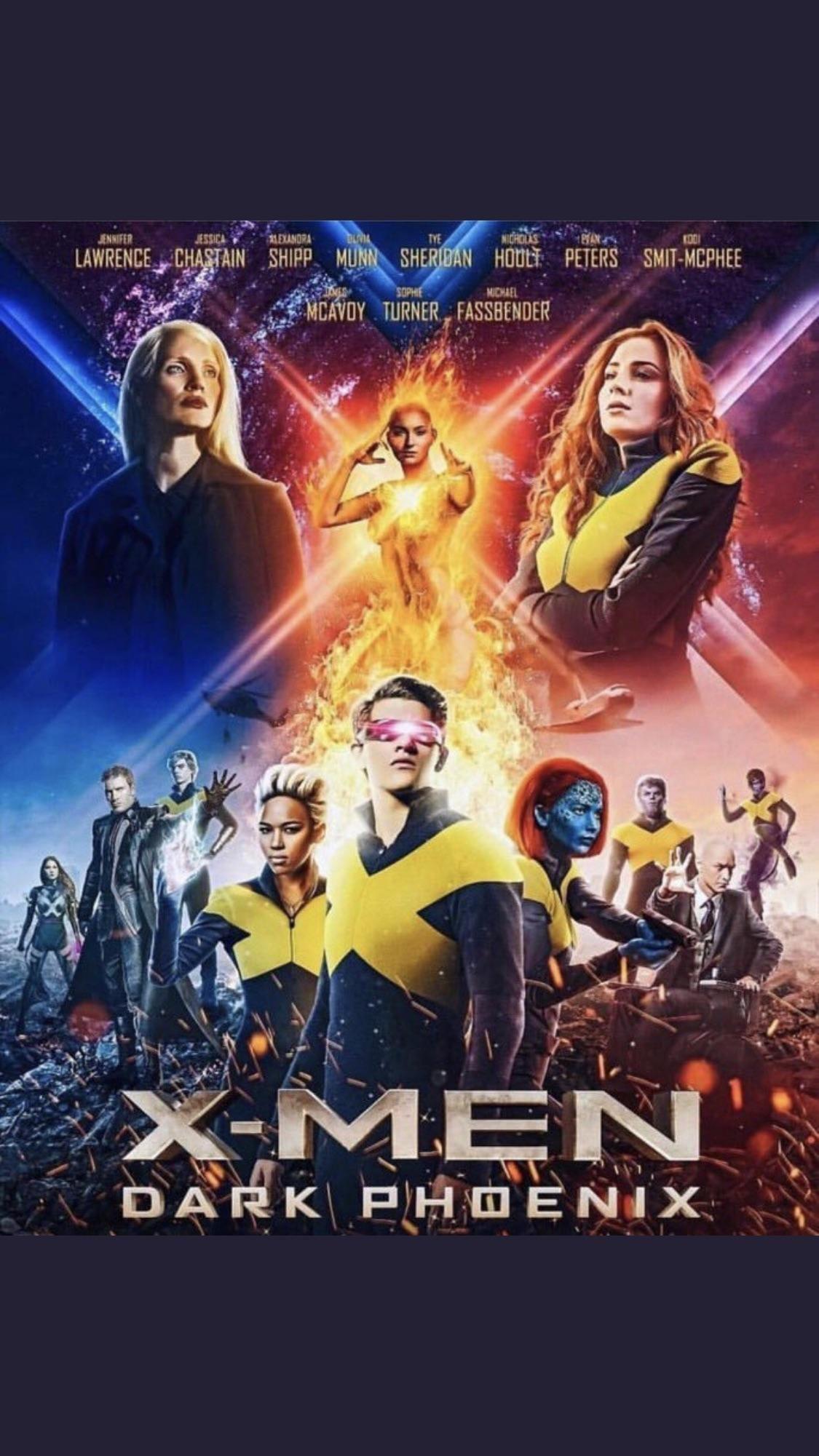 Poster x men marvel