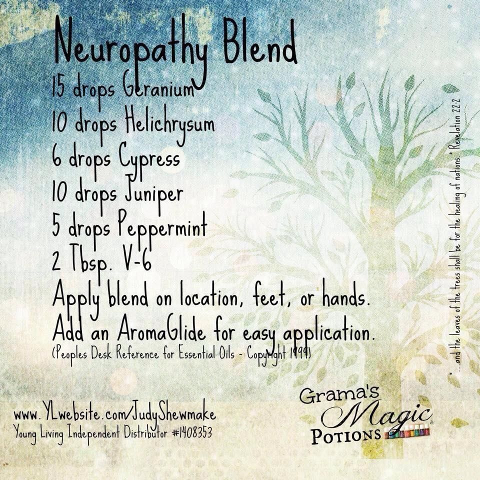 Young Living Essential Oils Neuropathy Pain Numbness Tingling