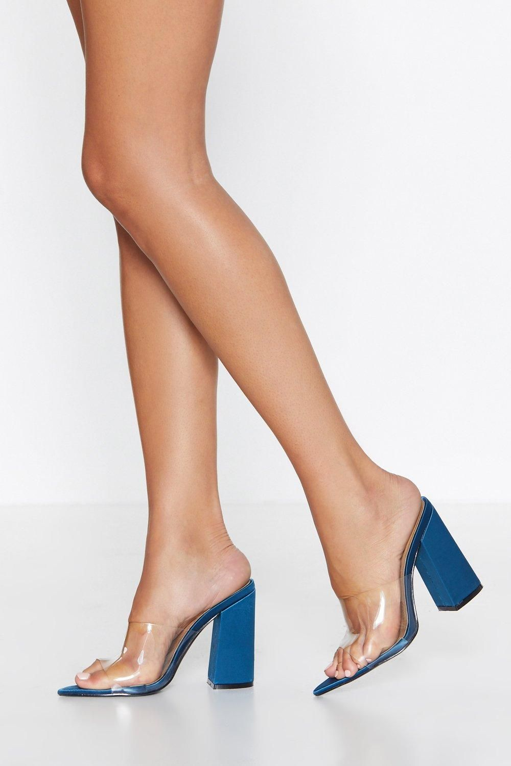 a7c71338b85b1 Clear the Way Heel in 2019 | Loves | Heels, Pointed toe heels, Shoes