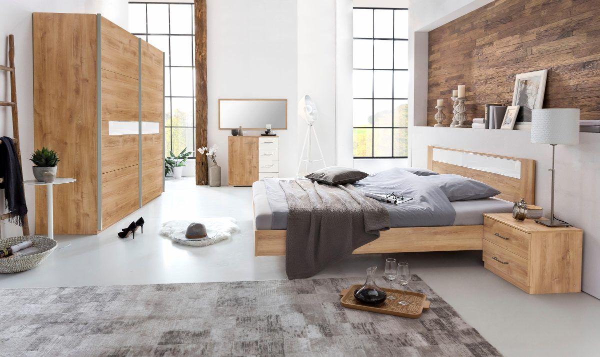 Schlafzimmer-Set mit Schwebetürenschrank weiß, WIMEX Jetzt bestellen ...