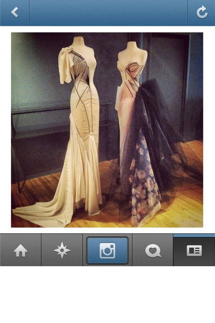 Go behind-the-scenes this fashion week - follow our favorite Instagram accounts, like Zac Posen