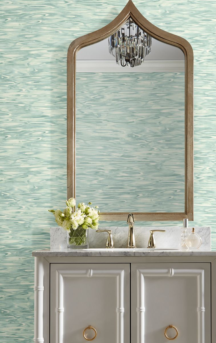 York SO2411 Candice Olson Tranquil Still Waters Wallpaper