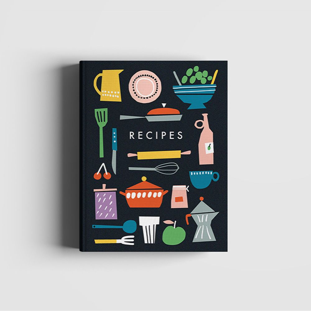 Recipebook Design: It Was Fun To Work On This Self-initiated Project Over The