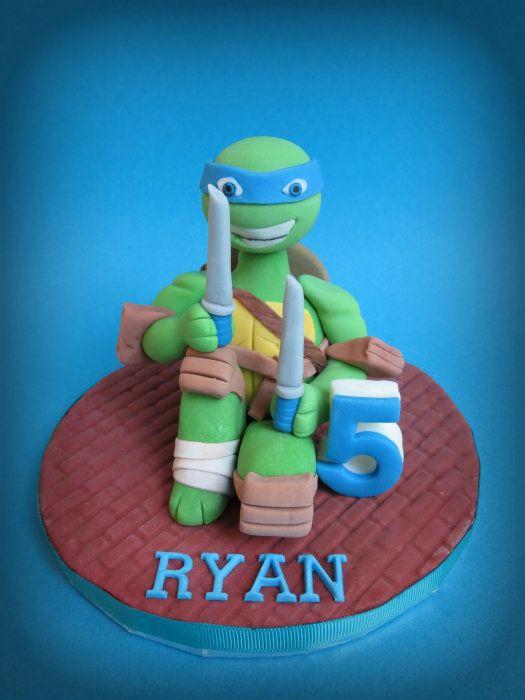 How to make a Teenage Mutant Ninja Turtle Cake Topper Ninja