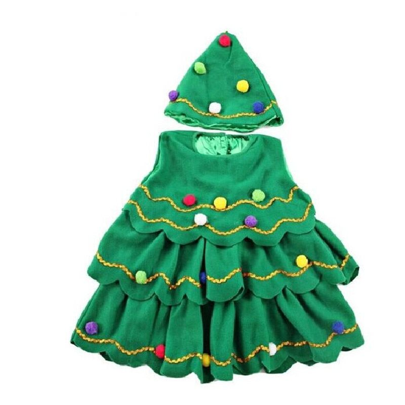 Lovely Novelty Pick Up Novelty Items Just For Your Amazing Online Shopping Dress Xmas Tree Outfit Sets Baby Girl Christmas