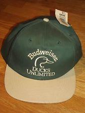 1998 Budweiser Ducks Unlimited Billed Hat Ducks Unlimited Duck