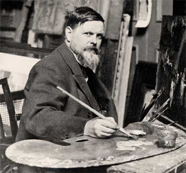 Sir Frank Brangwyn, Anglo-Welsh artist. b. Bruges, Belgium May 12th, 1867. d. Ditchling, Sussex, June 11th 1956