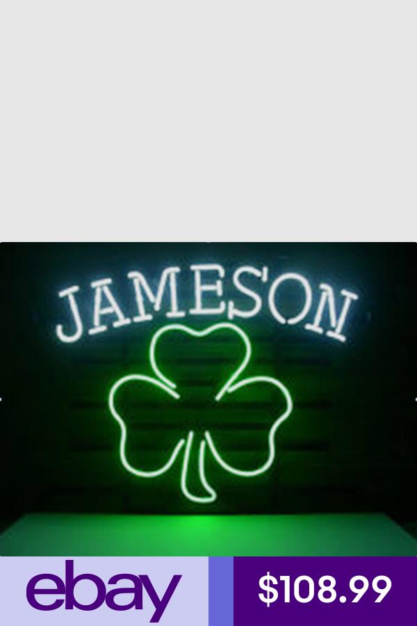 Neon Collectibles #ebay | Neon signs, Neon, Jameson whiskey