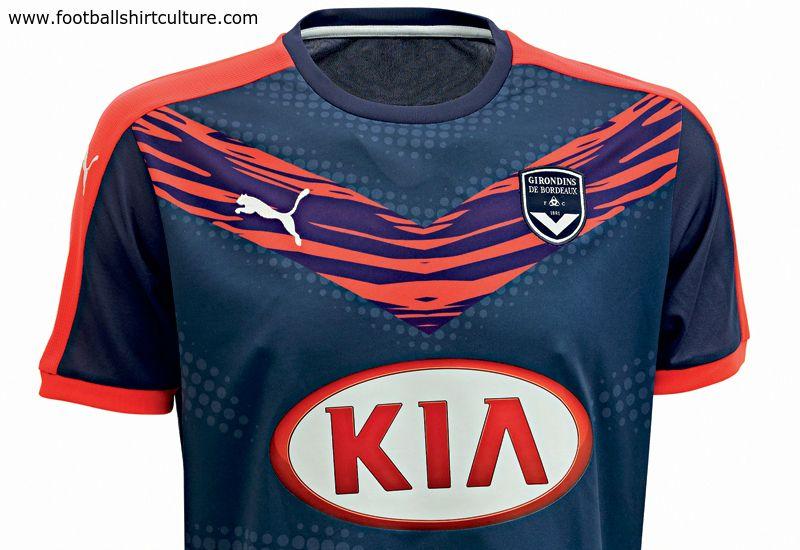 64a9d5f384b Girondins de Bordeaux 15 16 Puma Third Football Shirt