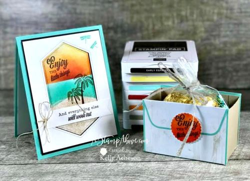 One Stamp At A Time Blog Hop - End of Summer #onlineclasses