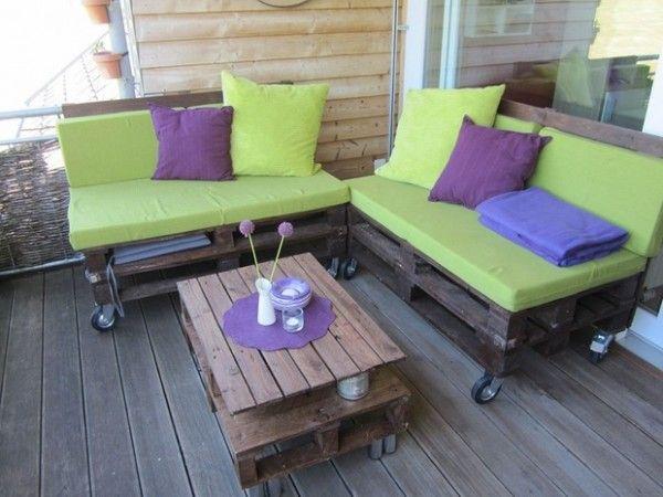 Salon de Jardin en Palette : 21 Idées à Découvrir | Jardin en ...