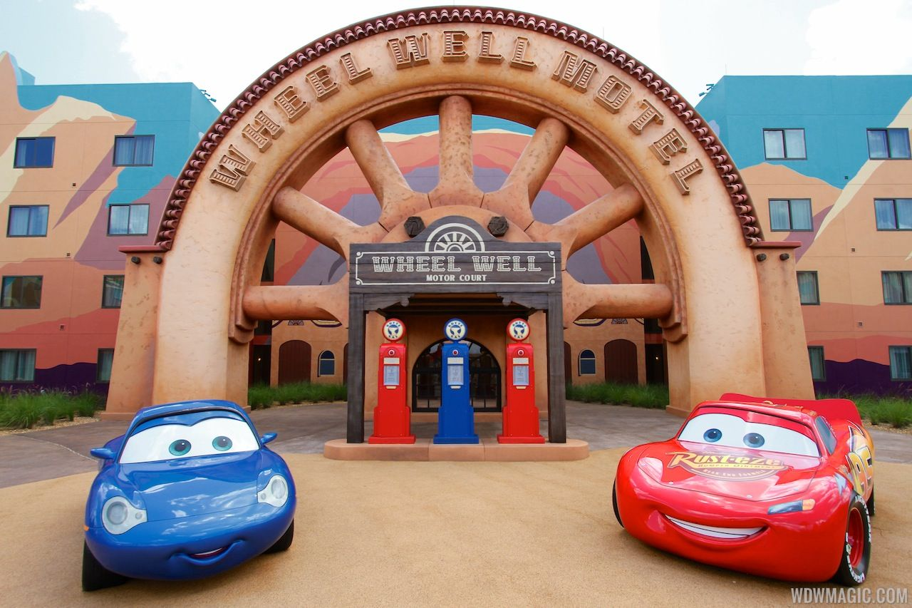 Disney's Art of Animation Resort - Sally and Lightning ...