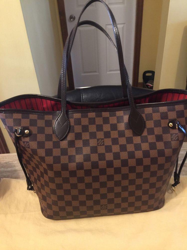 8011027ea9c3 Louis Vuitton Neverfull MM Damier Ebene shoulder bag Tote  fashion   clothing  shoes  accessories  mensaccessories  bags (ebay link)