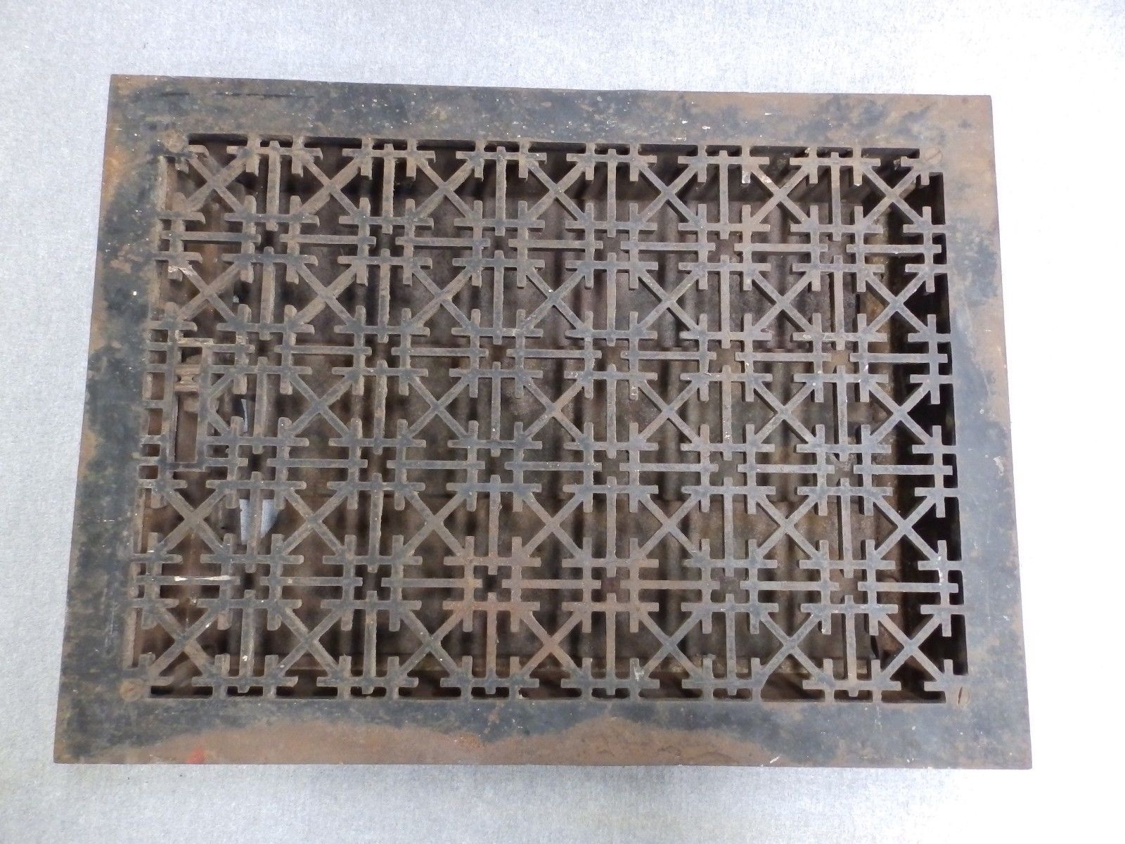 Decorative Grates Registers Antique Cast Iron Heat Register Grate Vent Old Vintage Hardware