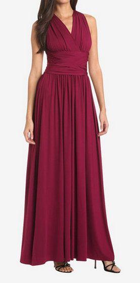 Halston Heritage Raspberry Dress