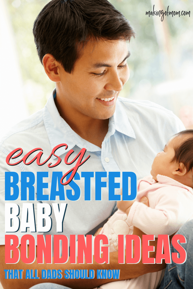 How to Get Dad Bonding With a Breastfed Baby | Twins
