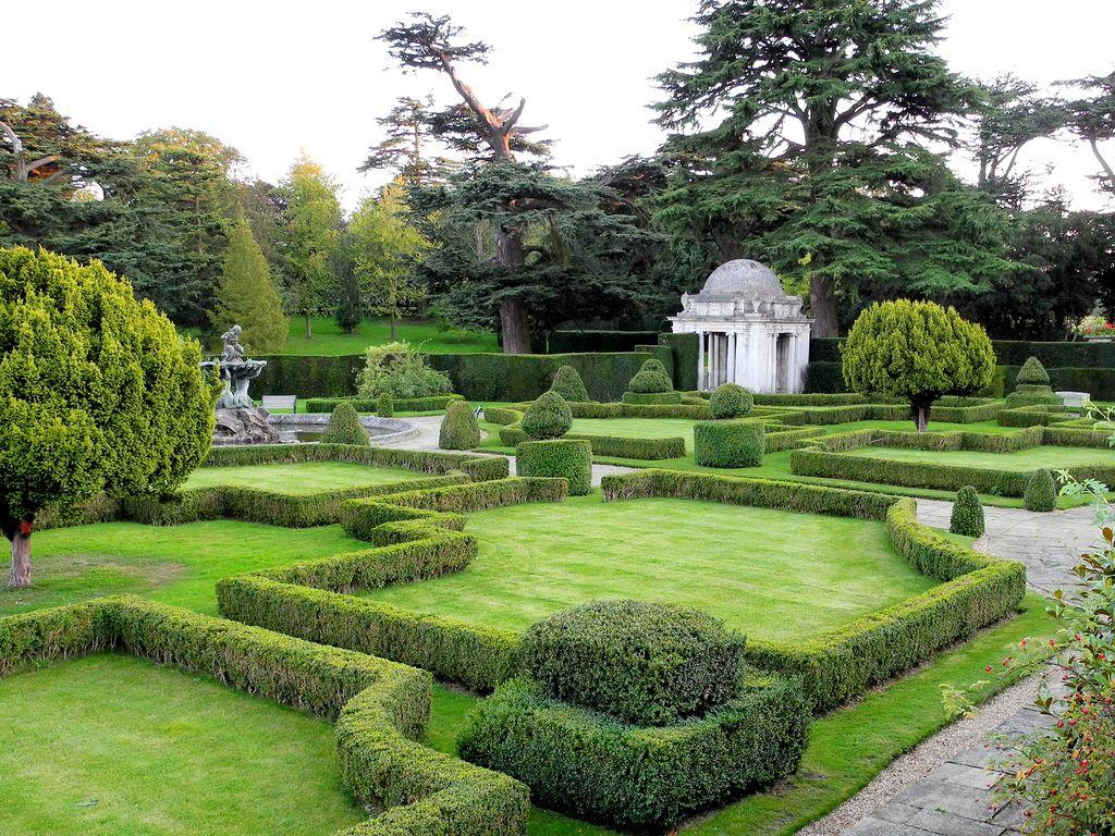 Luton Hoo Bedfordshire Outdoor Gardens Design Garden Architecture Parterre Garden