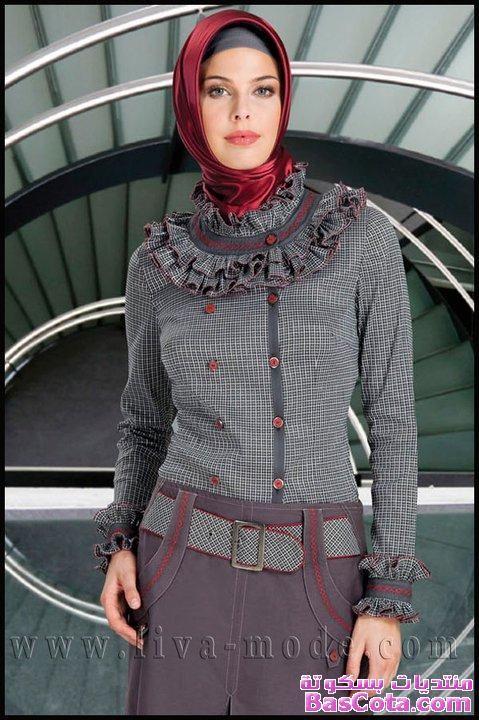 احدث ازياء شتاء للمحجبات ازياء محجبات شتوية ارقى ملابس محجبات Hijab Fashion 13546284244 Jpg Modest Fashion Fashion Model