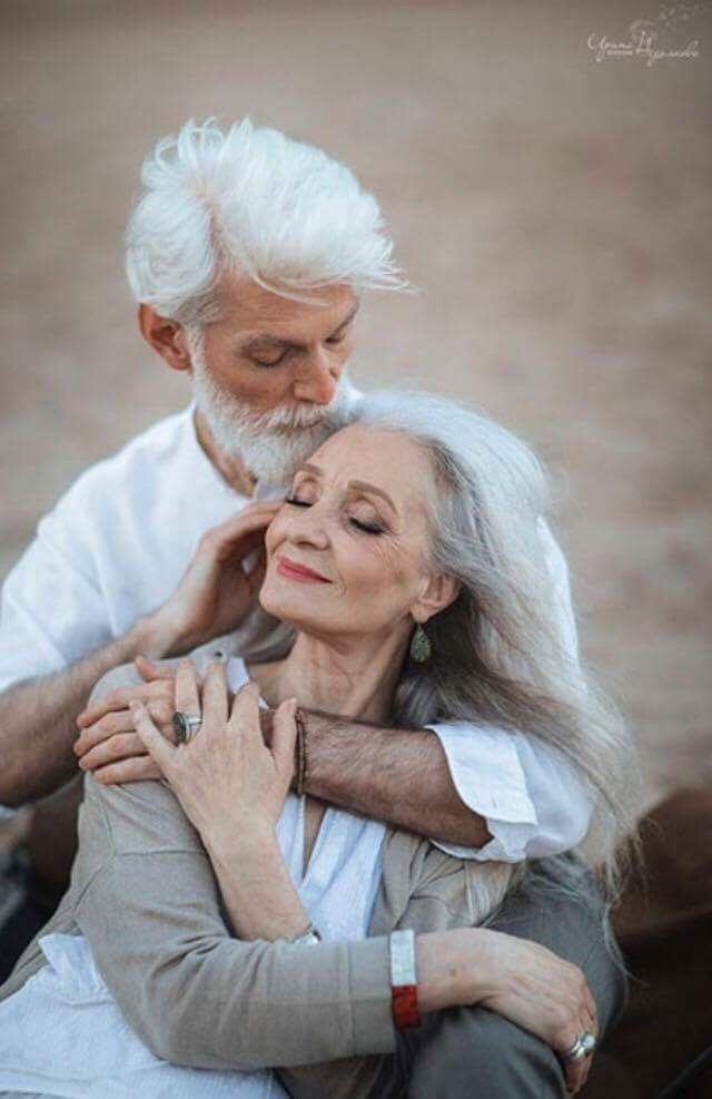 No Matter How Old Are You The Pure Love Gives You Eternal And