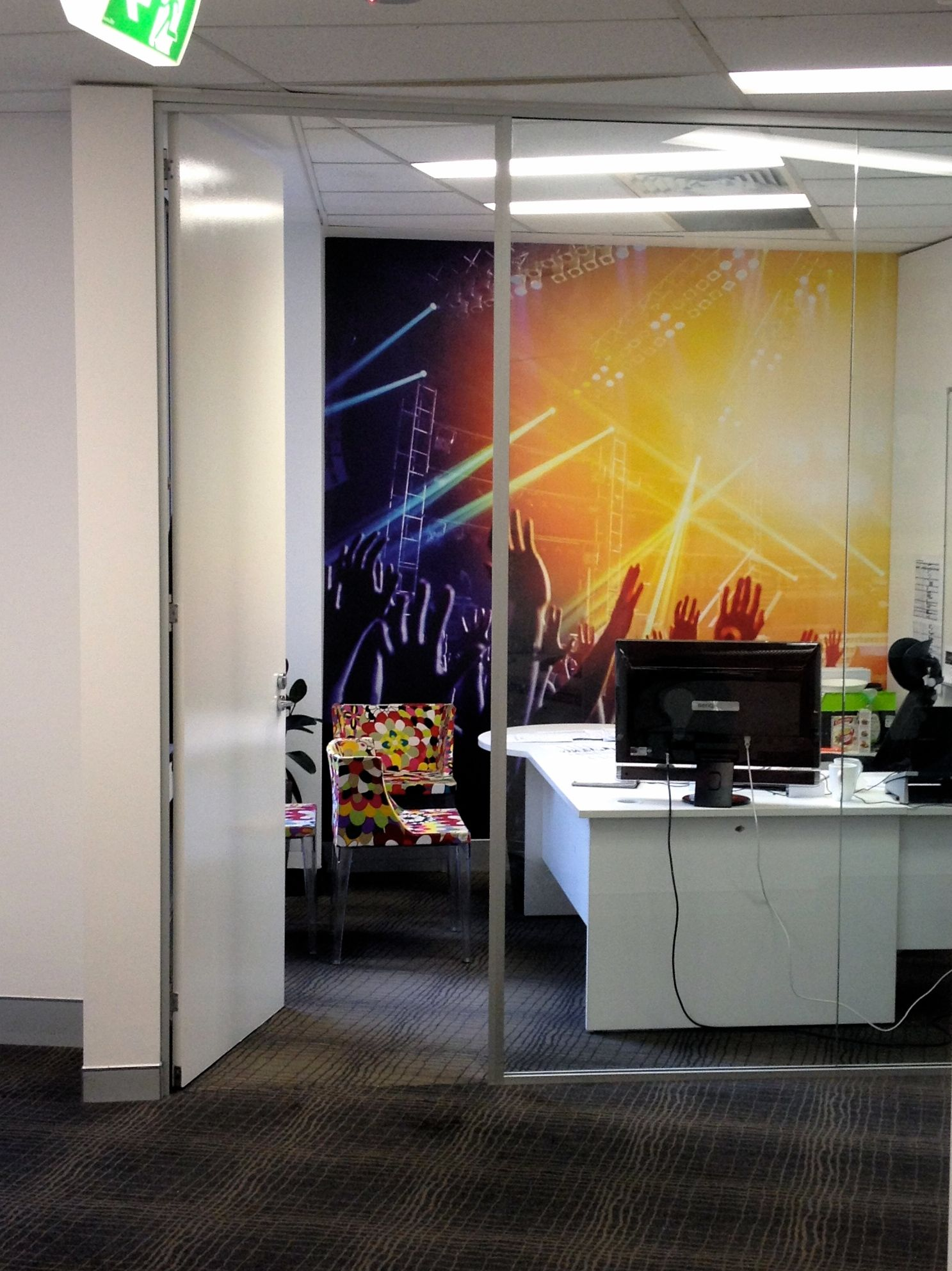 design your own office space. Office Space In Sydney _ Yea, Cheers!misterwallpaper.com.au - Create Design Your Own
