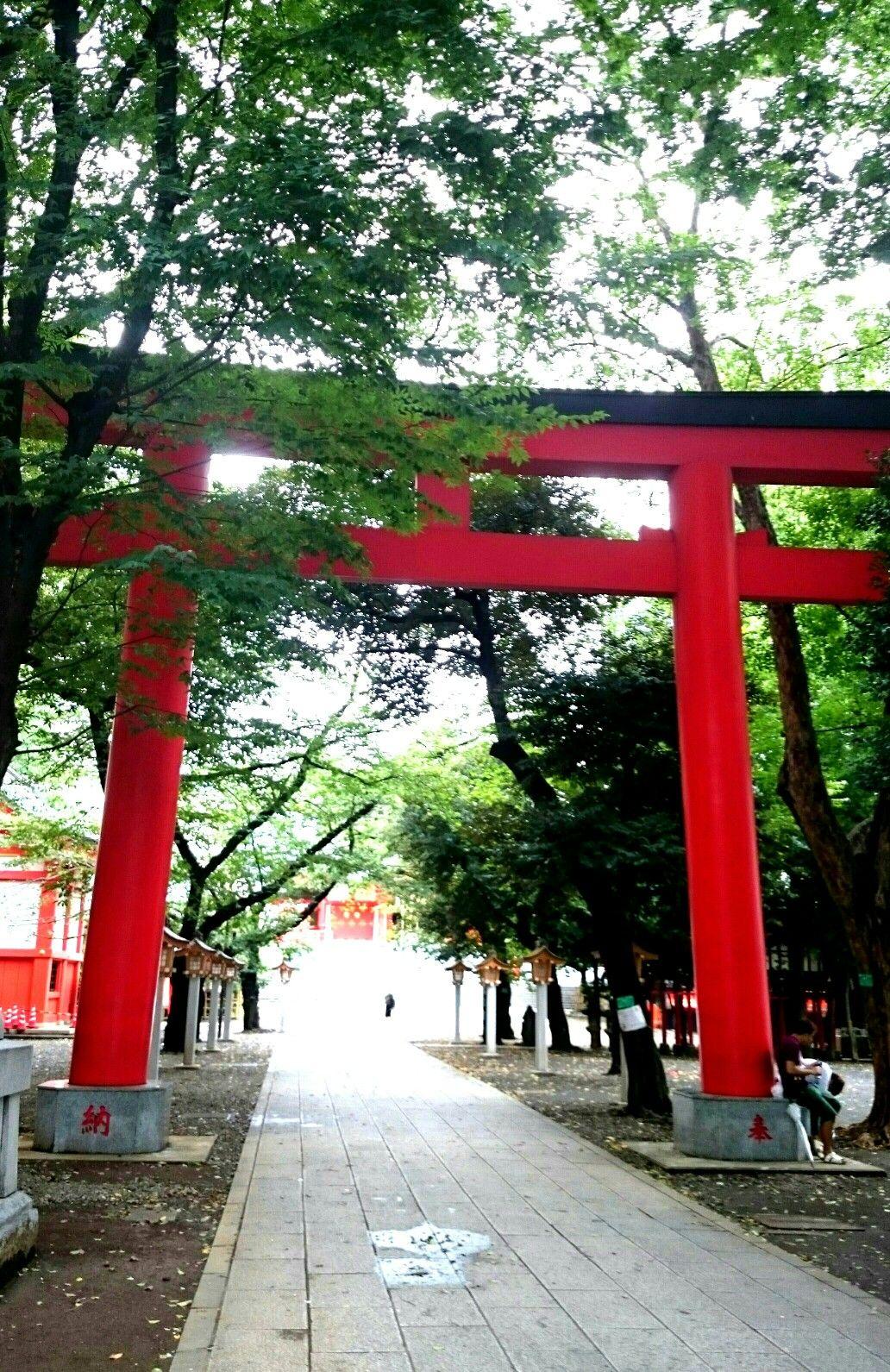 花園神社 Hanazono Temple / Sinjuku, Tokyo, Japan