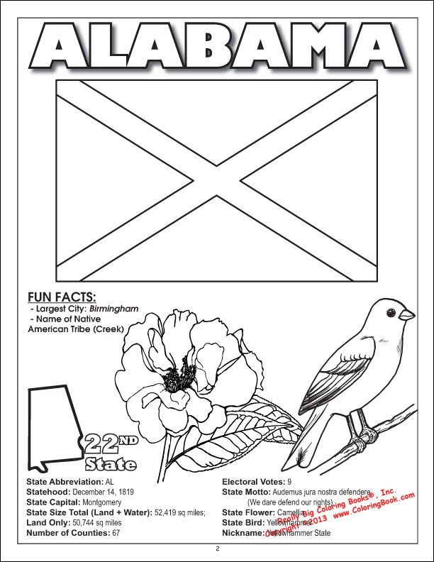 Coloring Books United States Coloring Book All 50 States Flag Coloring Pages Coloring Pages Bird Coloring Pages