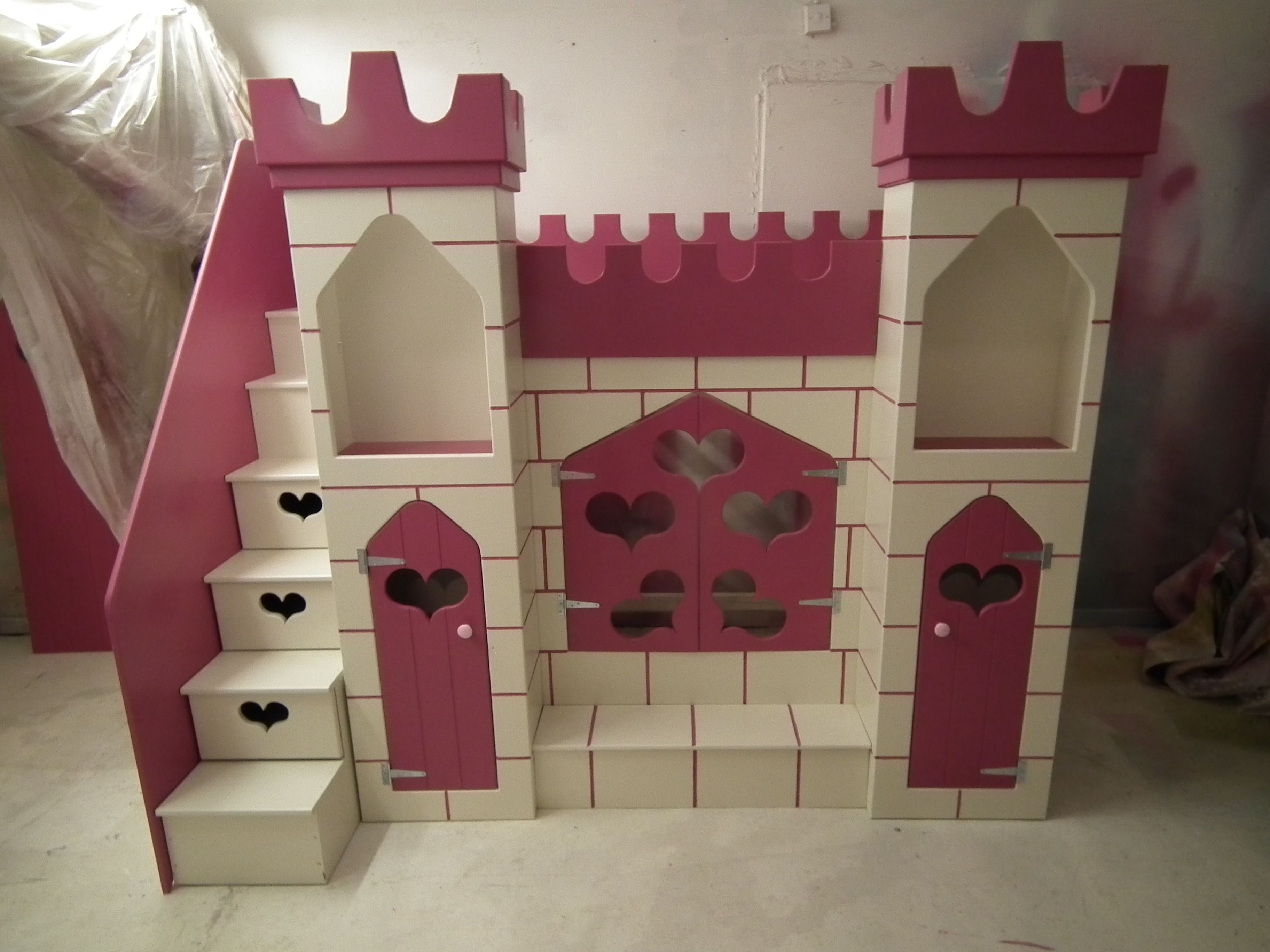 Girls Castle Bed With Storage Www Facebook Com