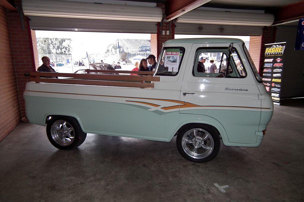 63 Ford Econoline Utility Cool Trucks Trucks Vintage Trucks