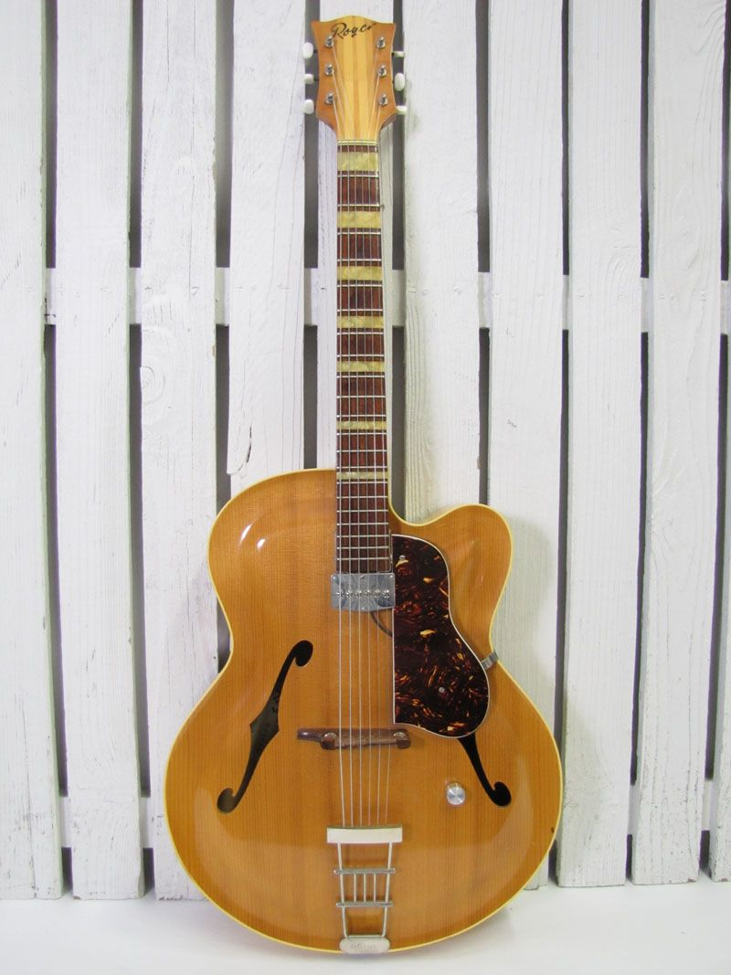 Circa 1960 S Vintage Roger Junior Cutaway Archtop Acoustic Guitar German Made Sale Archtop Acoustic Guitar Guitar Acoustic Guitar