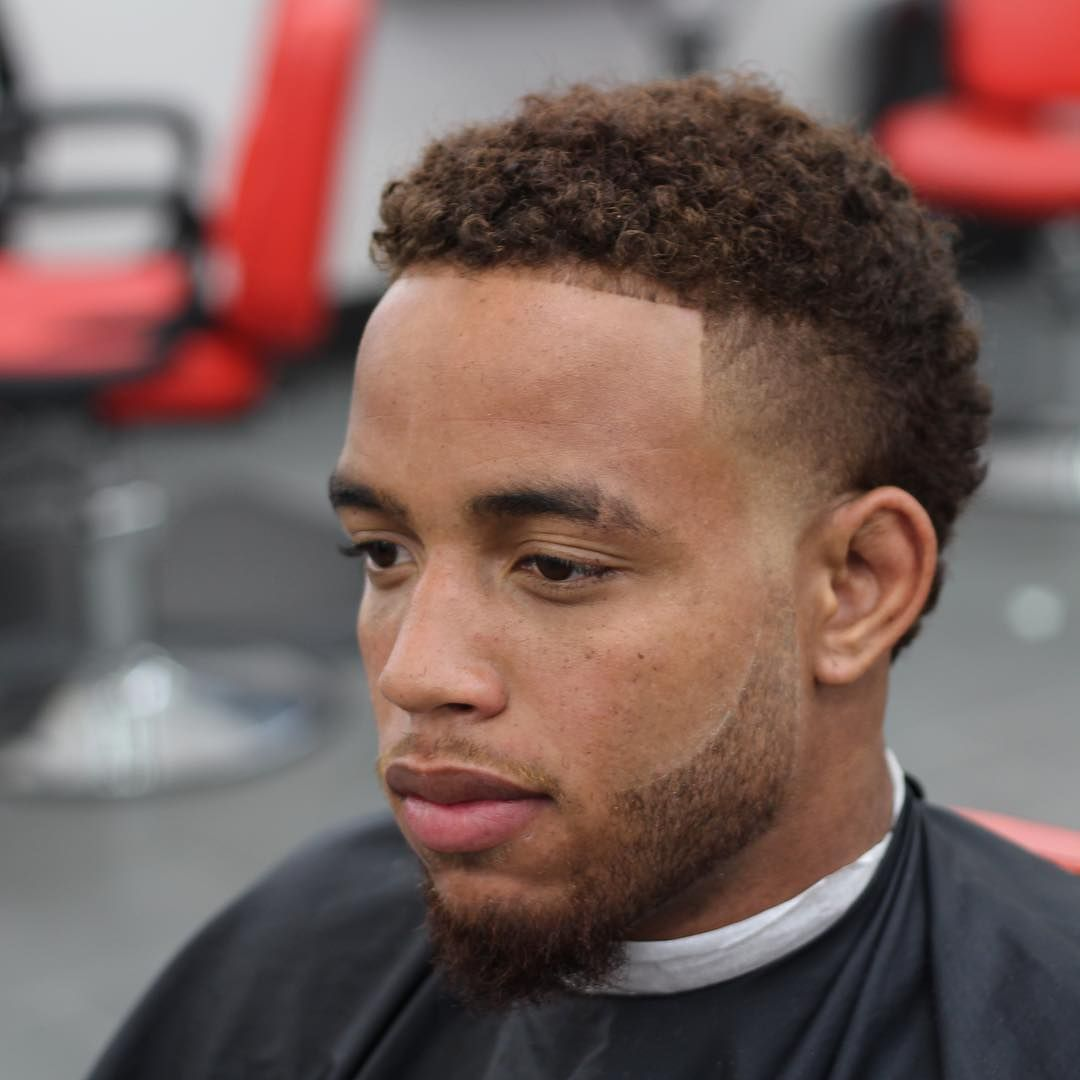 Coolest Hair Color For Black Guys With Dyed Hair Unique Style Fashionterest Fade Haircut Mens Haircuts Fade Haircuts For Men