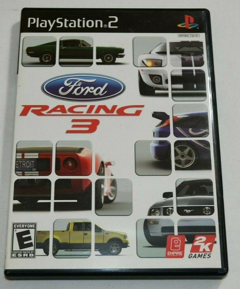 Playstation 2 Ps2 Ford Racing 3 Video Game Good Ford Racing