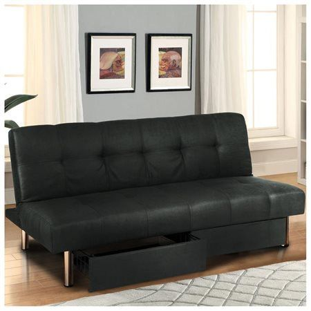 Great Futon Made Out Of Soft Padded