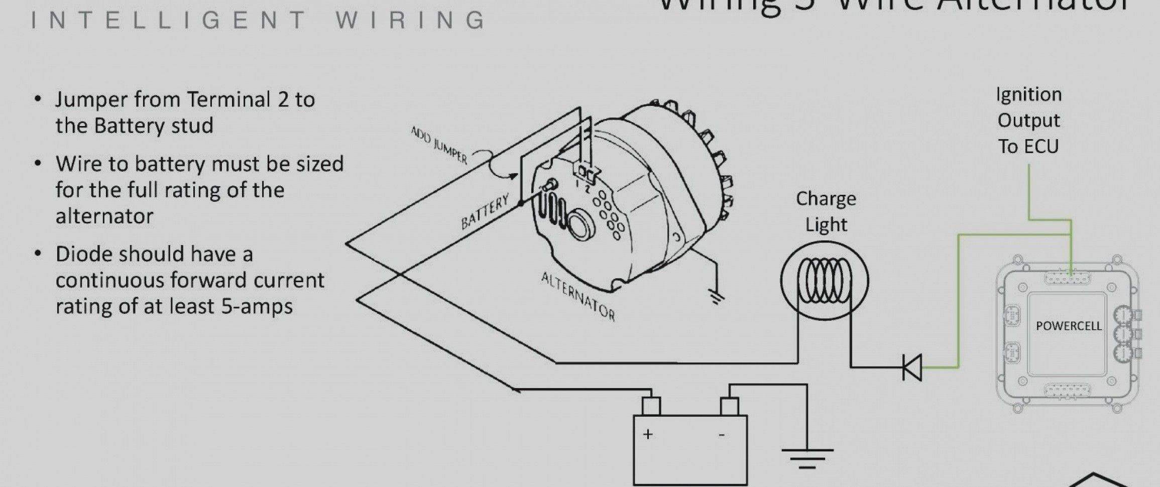 Unique Wiring Diagram 12v Alternator  Diagrams  Digramssample  Diagramimages
