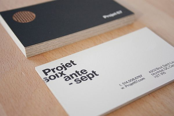 biz card / Projet 67