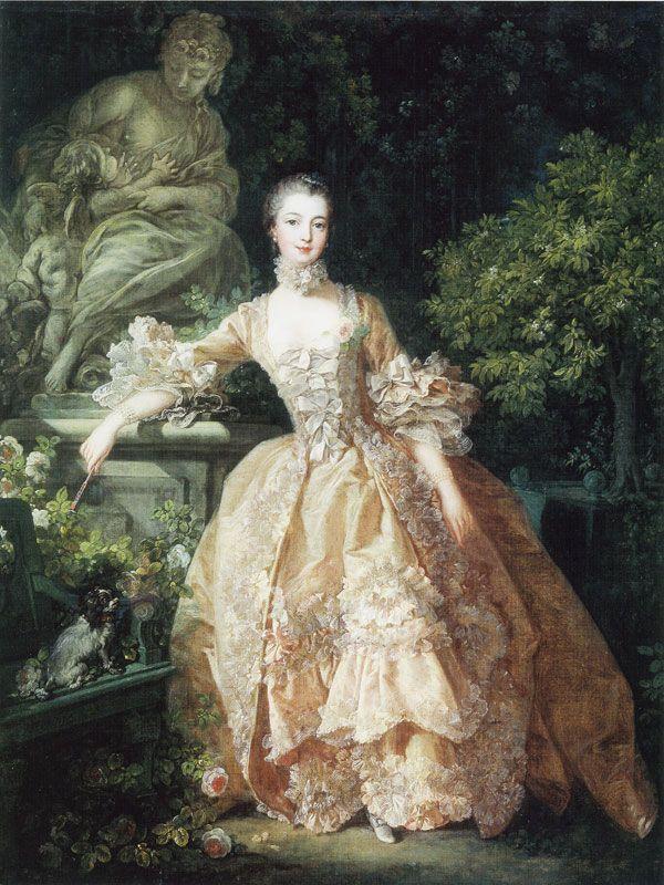 François Boucher - Madame de Pompadour