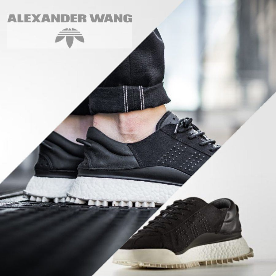 new style 49ac6 6467d Adidas Originals x Alexander Wang AW HIKE LO Sneakers Black AC6839 Size 4-11