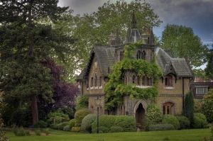 Wow! What a fairy tale house...! by Phil Lisbon