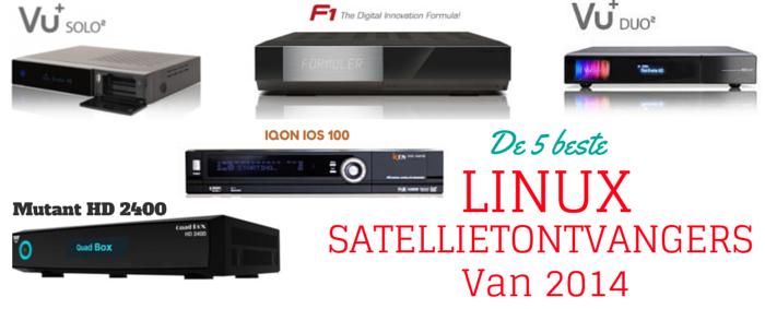 De 5 beste #Linux #satellietontvangers van 2014