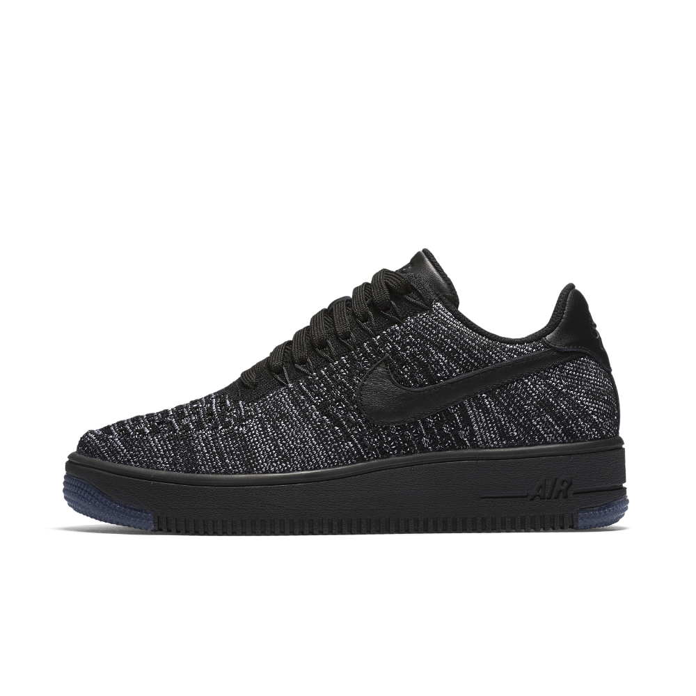 Nike Air Force 1 Flyknit Low Women s Shoe Size 10 (Black)  4bc70f2bae