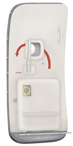 Digital Illustration Vector and raster illustration of 737 airplane door for use on PECO\u0027s tradeshow booth