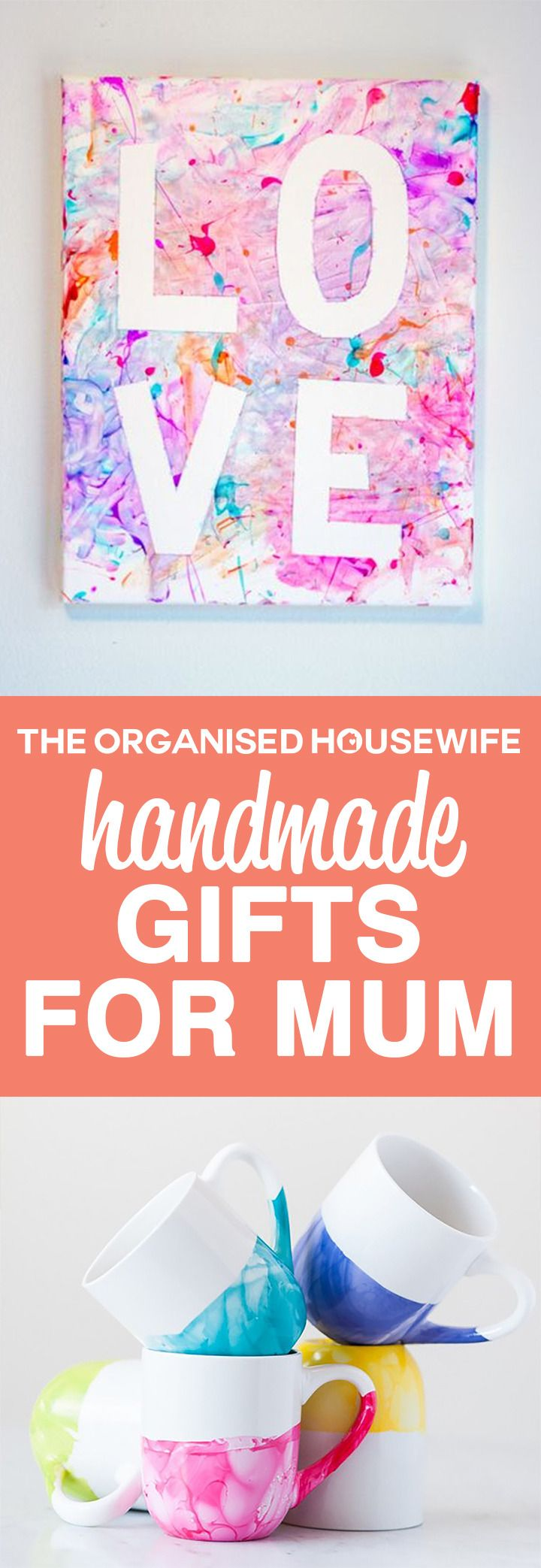 9 Handmade Gifts For Mum Art Stuff Christmas Gifts For