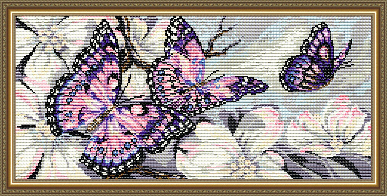 Diy diamond painting kit butterflies full square etsy