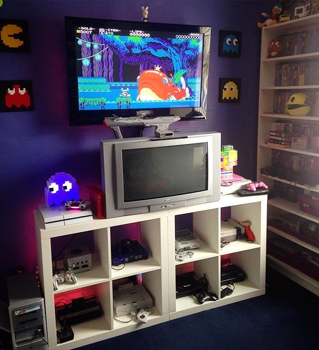 Instagram Photo By Retro Games Jun 25 2016 At 1 13pm Utc Retro Games Room Game Room Decor Gamer Room