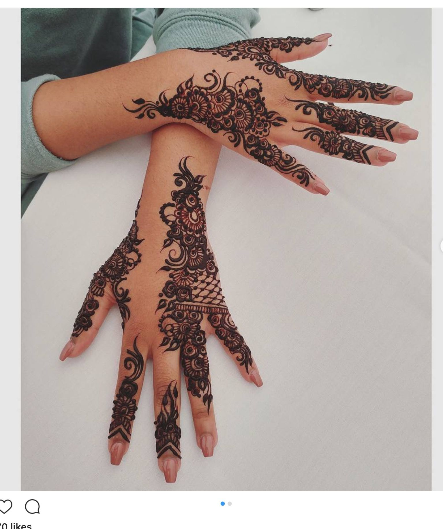 For The Client That Wants Detailed Henna Be Sure To Book Right