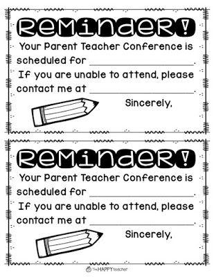 Parent Teacher Conference Tip: Send home Parent Teacher Conference ...